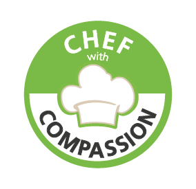 logo chef with compassion